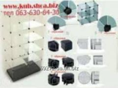 Connector, counter, fixture, H-shaped, for a