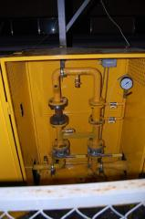 Gas metering stations