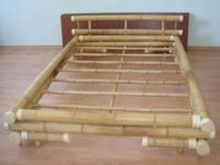 Кровать бамбуковая под заказ.