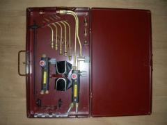 Set of the gas welder of KGS-1A (acetylene) LLC