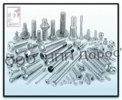 Corrosion-proof fixture. Corrosion-proof screws,