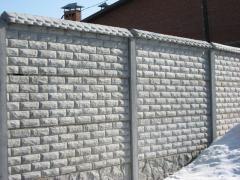 Еврозабор кирпич Фагот,бетонные ограждения,купить