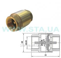 Valve of the return hydraulic 25 mm