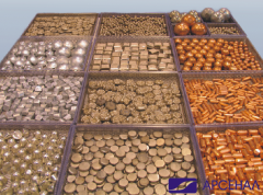Copper anodes of 1000*200*10 mm from continuous