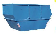 Containers for cleaning of grapes from the