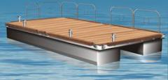 Pontoons for floating homes