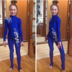 Купальник гимнастический детский. Одежда