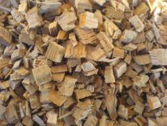 Дрова хвойных и лиственных пород, щепа древесная