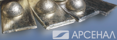 Anodes tin 500*100*10-12mm strictly in accordance