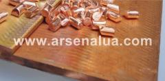 Anodes copper 12х20 mm of production Italy, Norway