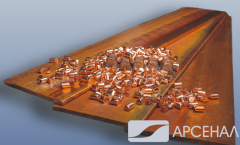 Anodes copper 12*20 mm of production Italy, Norway