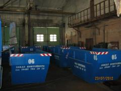 Containers Liftdamper from the producer