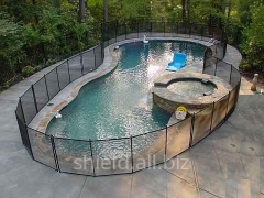 Safety fence for pool Shield