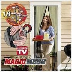 Москитная сетка на магнитах Magic Mesh!!!