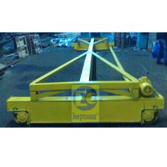 The crane beam basic in dock