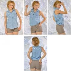 Рубашка джинсовая женская, интернет магазин