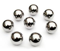 Spheres from stainless steel 12X18H10T