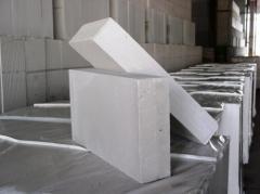 Блоки из ячеистого бетона ТЕПЛОБЛОК, ГОСТ 21520-89