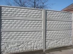 Еврозабор Польский кирпич,бетонные