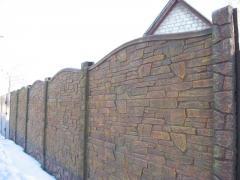 Еврозабор Карпатский камень,бетонные