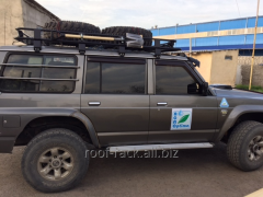 Forwarding luggage carrier on UAZ Hunter, UAZ