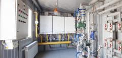 Modular boiler room. Block boiler room.