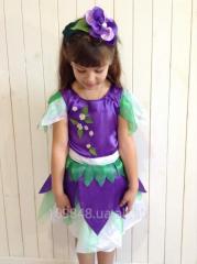 Детский костюм Цветочек, фиалка, весна, лесная фея