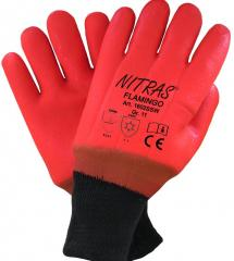 PVC Glove NITRAS® 1602SSW gloves for protection