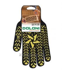 Doloni's Star gloves with PVC drawing (Arth.