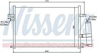 RADIATOR CONDENSER CHEVROLET / GMC LACETTI (04-)