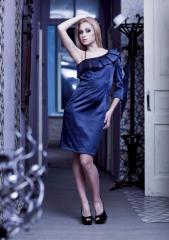 Синее платье от Nai Lu-na, 26063