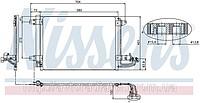 RADIATOR AUDI A 3 / S 3 CONDENSER (03-) 1.2 TFSI