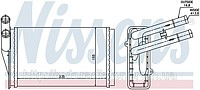 RADIATOR OF THE HEATER OF AUDI A 4 / S 4 (94-) 1.6
