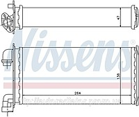 RADIATOR OF THE HEATER OF BMW 3 E30 (82-) 316