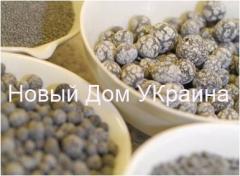 Koop kristalsuiker schuimglas nieuw huis Kiev, Oekraïne
