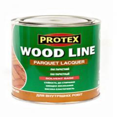 Лаковая защитная пропитка древесины от ТМ PROTEX