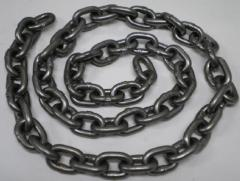 Round link chains in assortmen