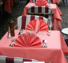 Textiles for restaurants