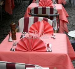 Textiles for restaurants