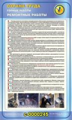 Знаки и стенды безопасности Охрана труда горные