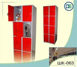 Секция камеры хранения из 8 ящиков Арт. ШК-063 для