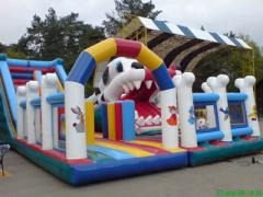 Inflatable Dog complex