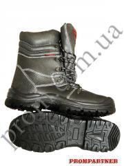 ботинки кожа Механик, ПУП литая МБС арт.09157