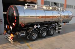 Ransportation of dangerous loads by special