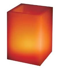 Candle LED RGB with the panel Paraffin Square