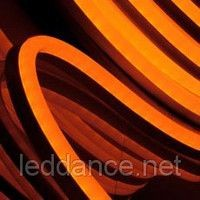 "Orange LED flexible tube of ""Neo Neon"