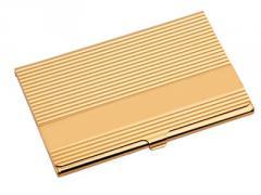 Card holder pocket metal