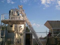 Мобильный бетонный завод СБ-241В