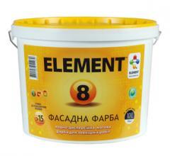 Opaque front ELEMENT 8 paint, (BAZ LA)