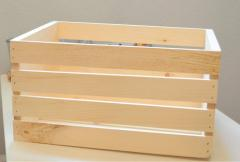 Box wooden